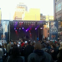 Photo taken at Super Bowl Village by Luke S. on 2/5/2012