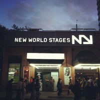 Photo taken at New World Stages by Janie Y. on 8/28/2012