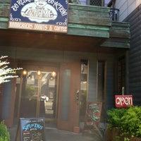 Photo taken at CAFE ZARAME by Takeyoshi N. on 8/4/2012