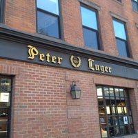 Photo taken at Peter Luger Steak House by Ryosuke T. on 5/20/2012