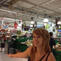 Photo taken at Carrefour by Stefano C. on 8/26/2012