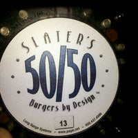 Photo taken at Slater's 50/50 by Vincent D. on 2/19/2012