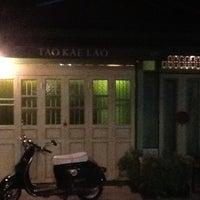 Photo taken at บ้านรถตู้นอนโฟล์ค @ เถ้าแก่ลาว by Kitikorn_P on 6/23/2012