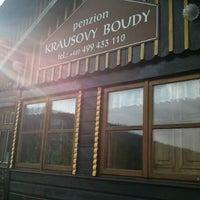 Photo taken at Krausovy Boudy by Iva Š. on 8/17/2012