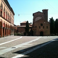 Photo taken at Piazza Santo Stefano by Giacomo B. on 8/5/2012