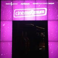 4/14/2012 tarihinde Şefik S.ziyaretçi tarafından Cinemaximum'de çekilen fotoğraf
