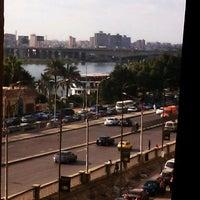 Photo taken at Corniche El Maadi by Welly N. on 3/3/2012