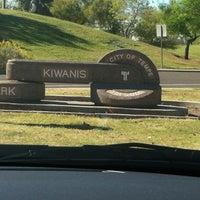 Photo taken at Kiwanis Park by Sonji J. on 3/23/2012