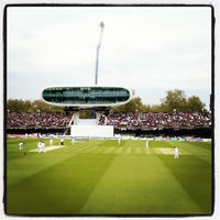 Photo taken at Lord's Cricket Ground (MCC) by Guy G. on 5/17/2012