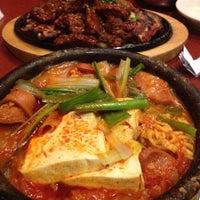 Photo taken at Soowon Galbi by Nathalie L. on 3/26/2012
