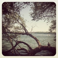 Photo taken at Picnic Point by Sophie N. on 5/27/2012