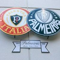 Photo taken at Sociedade Esportiva Palmeiras by Andrés M. on 8/11/2012