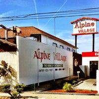 Photo taken at Alpine Village Market by TONY A. on 4/4/2012