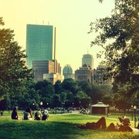 Boston Common Park in Boston