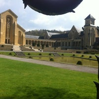 Photo taken at Abbaye Notre-Dame d'Orval by Dimitri B. on 4/13/2012