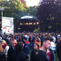 Photo taken at Parkfeest Oosterhout by Ian v. on 6/1/2012