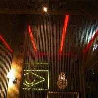 Photo taken at Cafe de La Musique by ⚡️Nelson P. on 4/12/2012