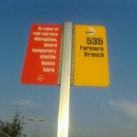 Photo taken at Royal Lane Station (DART Rail) by John U. on 8/23/2012