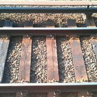 Photo taken at LIRR - Hicksville Station by Chris M. on 4/25/2012