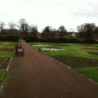 Photo taken at Saughton Park and Gardens by TheMissJR on 3/21/2012