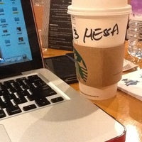 Photo taken at Starbucks by Hessa A. on 8/10/2012