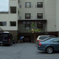 Photo taken at Ravel Hotel by Tiffany S. on 6/11/2012
