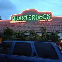 Photo taken at Quarterdeck Restaurant by Matt H. on 8/13/2012