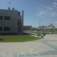 Photo taken at Universidad Rey Juan Carlos (Campus Fuenlabrada) by Jesus S. on 9/5/2012