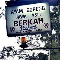 """Photo taken at Ayam Goreng """"Berkah"""" Rachmat by Moefid T. on 3/17/2012"""