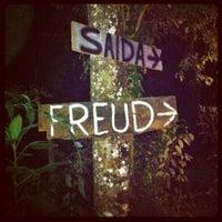 Photo taken at Freud Bar by Daniel L. on 5/19/2012
