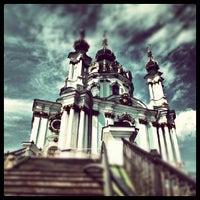 Снимок сделан в Андреевская церковь пользователем Andriy B. 5/29/2012