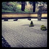 Photo taken at Portland Japanese Garden by James K. on 3/19/2012