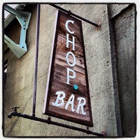 Photo taken at Chop Bar by Cory O. on 4/29/2012