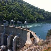 Photo taken at Smith Mountain Lake Dam by Lisa R. on 4/13/2012