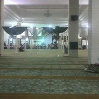 Photo taken at Masjid Kuarters KLIA by Eunsun S. on 7/22/2012