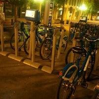 Photo taken at Vélo Bleu (Station No. 19) by Iarla B. on 3/31/2012
