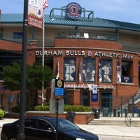 Photo taken at Durham Bulls Athletic Park by David's W. on 6/13/2012