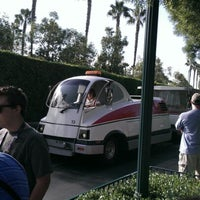 Photo taken at Mickey & Friends Tram by Jeff C. on 9/4/2012