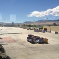 Photo taken at Reno-Tahoe International Airport (RNO) by Jessica on 7/1/2012