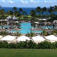 Photo taken at The Ritz-Carlton, Kapalua by Justin L. on 3/16/2012
