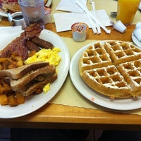 Photo taken at Vic's Waffle House by Paul M. on 4/3/2012