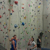 Photo taken at Ibex Climbing Gym by Trishel R. on 8/17/2012
