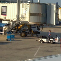 Photo taken at Gate 8 by Richard R. on 6/21/2012