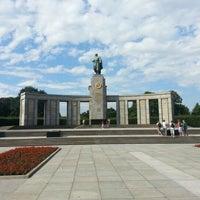 8/4/2012 tarihinde Alexander A.ziyaretçi tarafından Sowjetisches Ehrenmal Tiergarten'de çekilen fotoğraf