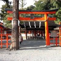 Photo taken at 吉田神社 by Minori Y. on 4/15/2012