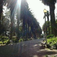 Photo taken at Jardim do Campo Grande by Ellen M.I.L. M. on 3/10/2012
