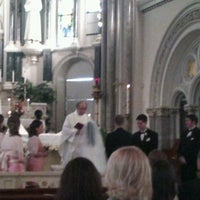 ... Photo taken at Annunciation Catholic Church by Carlos R. on 11/10/2012  ...