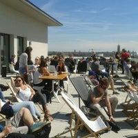Photo taken at Vorhoelzer Forum by utku c. on 4/26/2012