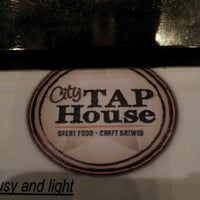 Photo taken at City Tap House by Christopher B. on 6/15/2012