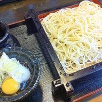 Photo taken at 更科 丸屋 by Stoshi Z. on 3/26/2012
